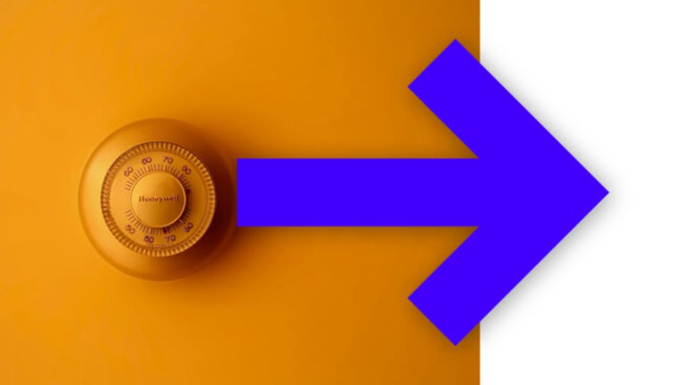 thermostat arrow to update hvac unit tuscaloosa
