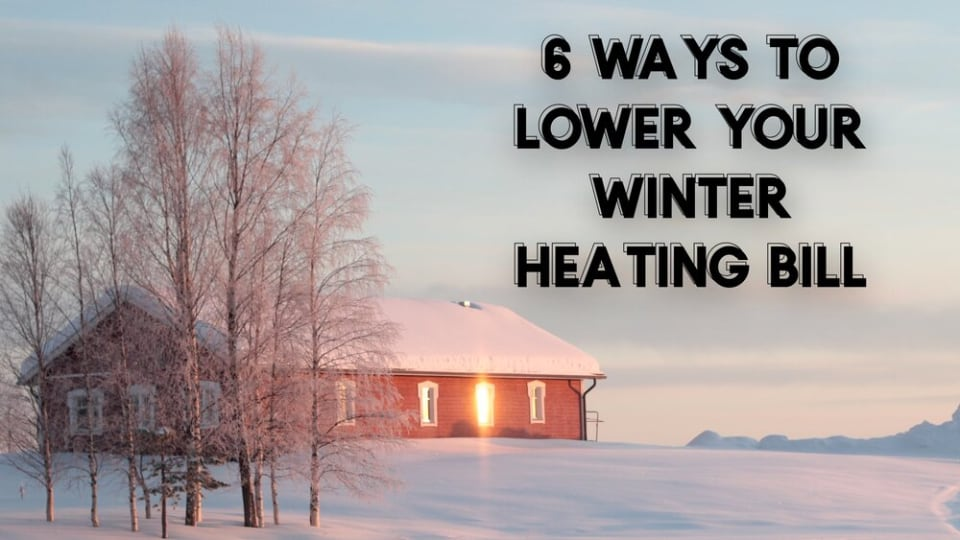 ways to lower your winter utility bill